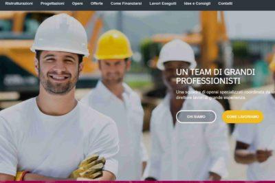 sito web per ristrutturazione roma