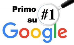 Posizionamento sito web su google